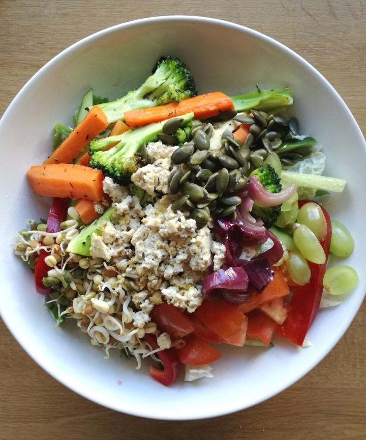 Täydellisen salaatin kaava