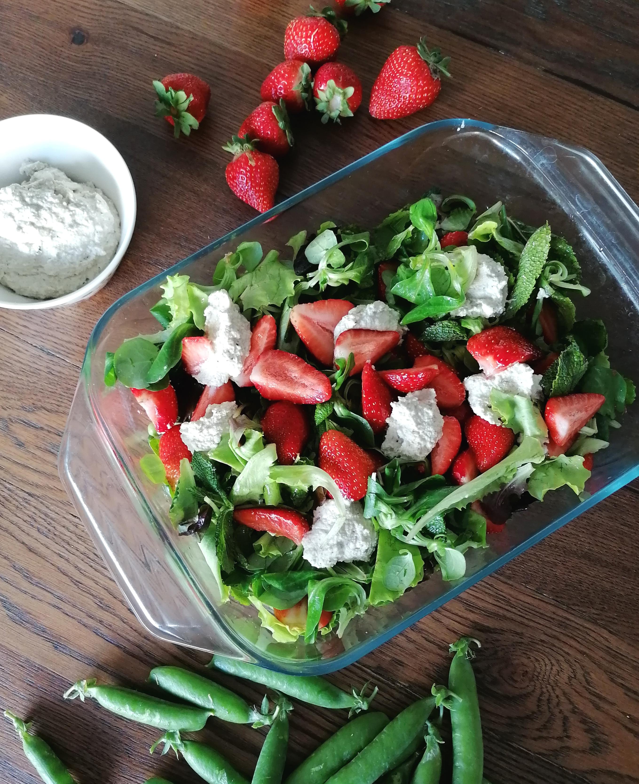 vegaaninen ravitsemusvalmennus vegaaninen salaatti