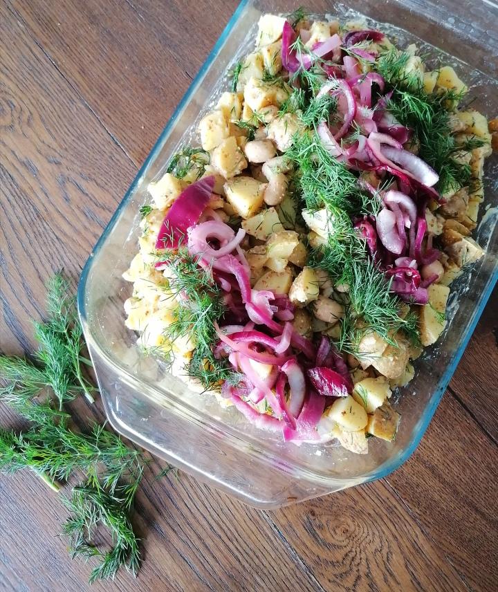 Sinappinen voipapu-perunasalaatti (V)