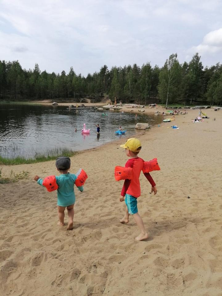 Ihana juhannusloma Suomessa